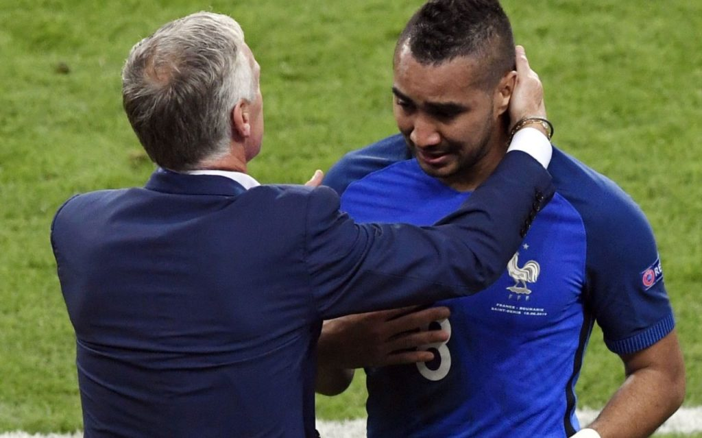 Payet-crying
