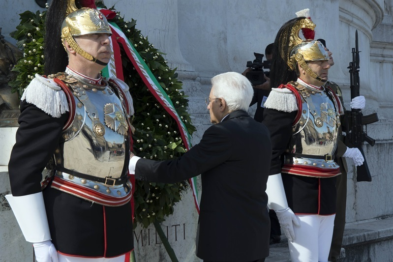 Mattarella: 'valori del '46 ci guidano per futuro di pace'