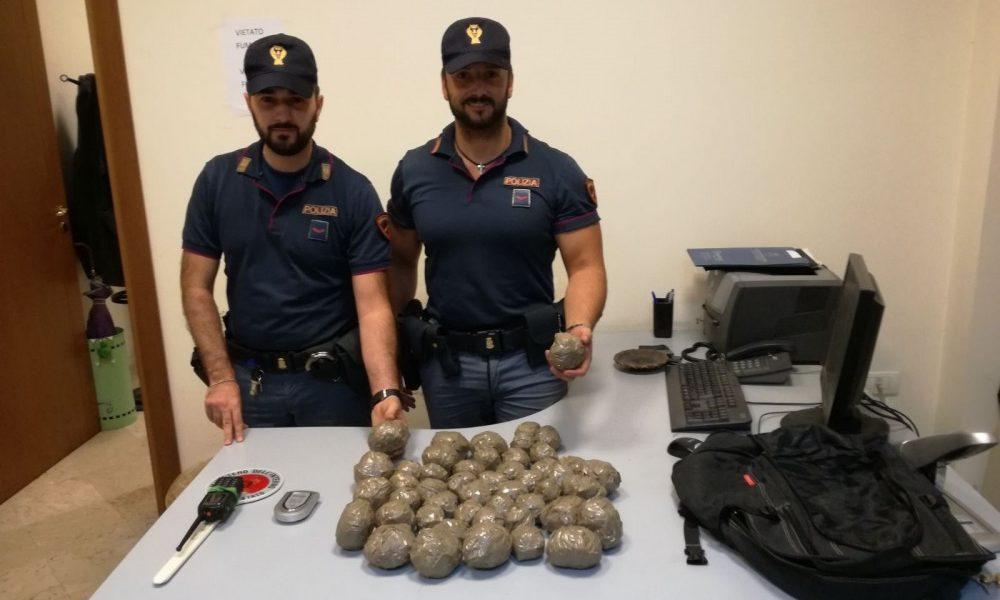 Spaccio nel parco del Roccolo, i carabinieri trovano 2 kg di marijuana