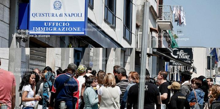 Permessi Di Soggiorno Pronti Of Questura Di Napoli Ufficio ...
