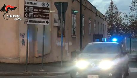 Ercolano, blitz de carabinieri: sgominato il mercato della droga