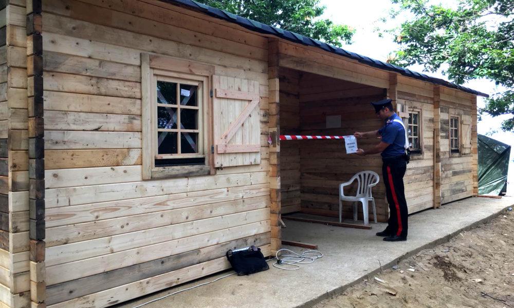 Anacapri avevano costruito una casa in legno senza for Case legno senza permesso