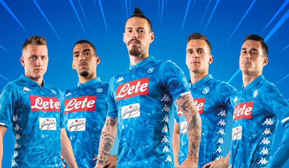 Napoli: prima squadra su Amazon. Presentate anche le nuove maglie