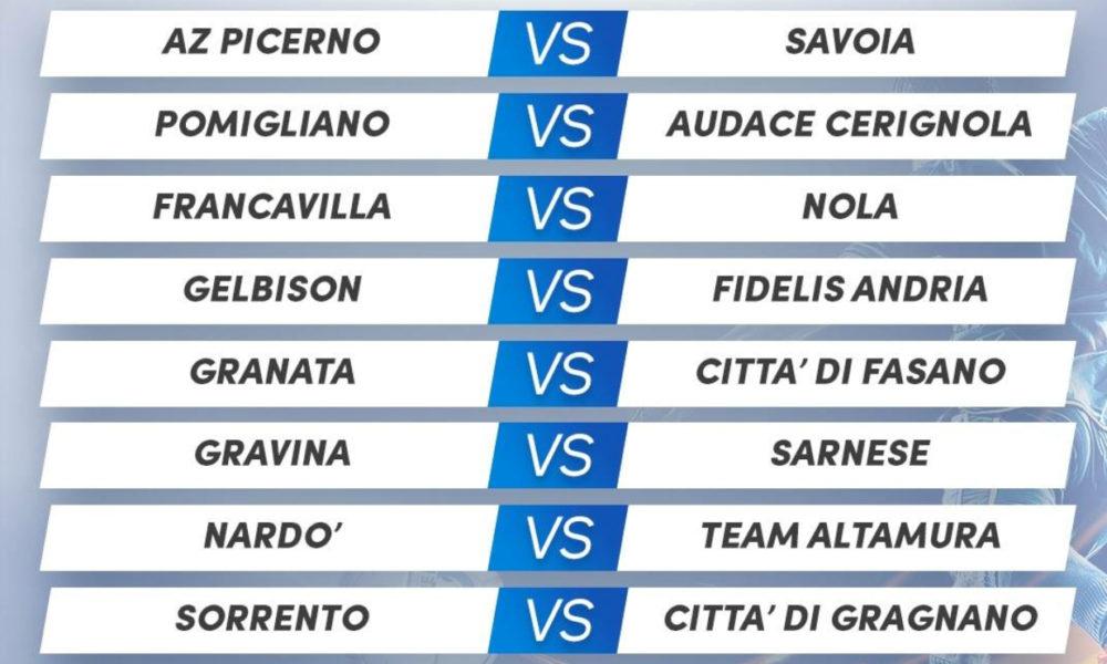 Calendario Serie D Girone H.Serie D Girone H Il Savoia Debutta A Picerno Derby Tra