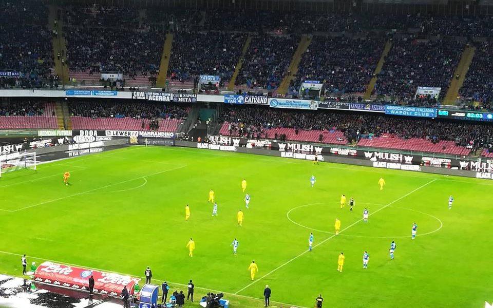 Napoli – Sassuolo: Denunciato tifoso 26enne